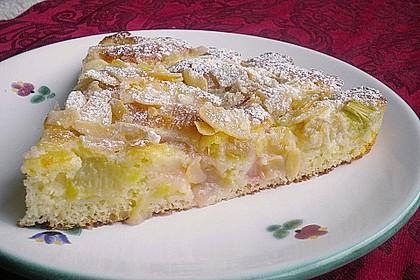 Rhabarber - Buttermilchkuchen 3