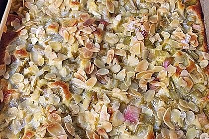 Rhabarber - Buttermilchkuchen 76