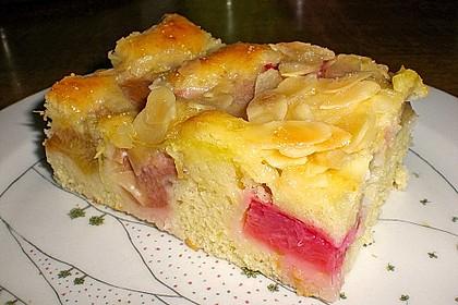 Rhabarber - Buttermilchkuchen 60