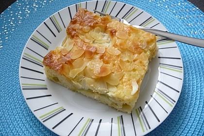 Rhabarber - Buttermilchkuchen