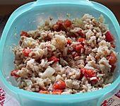 Paprika - Thunfisch - Reissalat