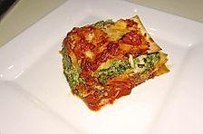 Lasagne mit Ricotta - Spinat - Füllung