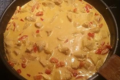 Hähnchen-Ananas-Curry mit Reis 59
