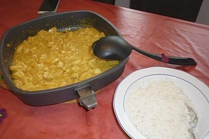 Hähnchen-Ananas-Curry mit Reis 70