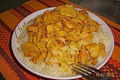 Hähnchen-Ananas-Curry mit Reis 61