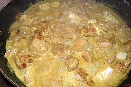 Hähnchen-Ananas-Curry mit Reis 116
