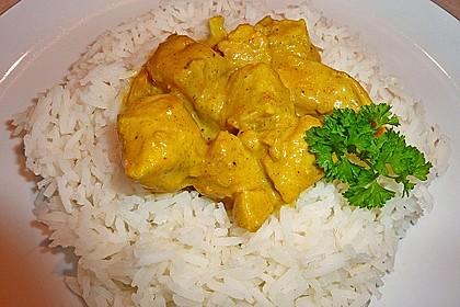 Hähnchen-Ananas-Curry mit Reis 28