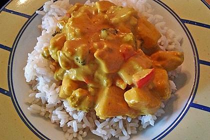 Hähnchen-Ananas-Curry mit Reis 65