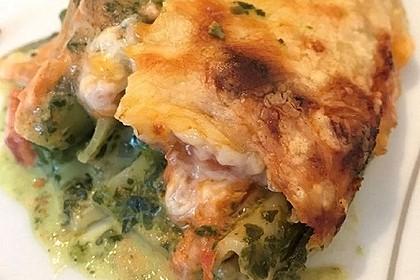 Ischileins Cannelloni mit Spinat und Frischkäse 22