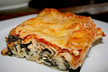 Ischileins Cannelloni mit Spinat und Frischkäse 5