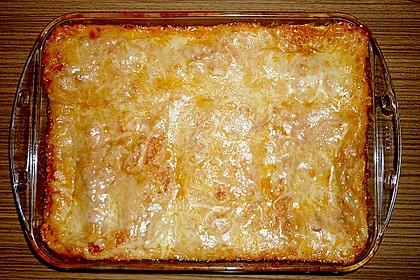 Ischileins Cannelloni mit Spinat und Frischkäse 60