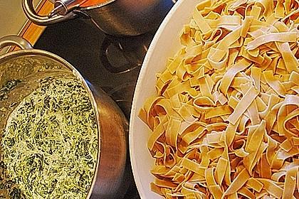 Ischileins Cannelloni mit Spinat und Frischkäse 52
