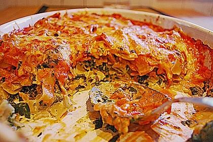 Ischileins Cannelloni mit Spinat und Frischkäse 53