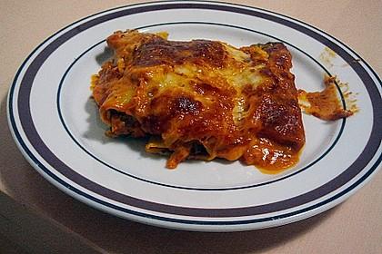 Ischileins Cannelloni mit Spinat und Frischkäse 50