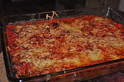 Ischileins Cannelloni mit Spinat und Frischkäse 73
