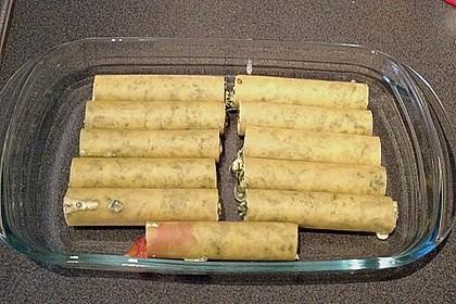 Ischileins Cannelloni mit Spinat und Frischkäse 48
