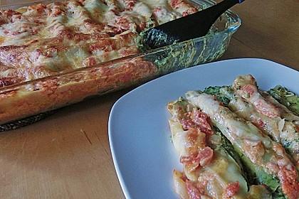 Ischileins Cannelloni mit Spinat und Frischkäse 29