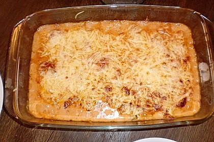 Ischileins Cannelloni mit Spinat und Frischkäse 77