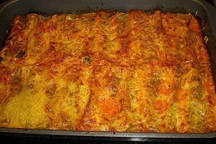 Ischileins Cannelloni mit Spinat und Frischkäse 65