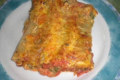 Ischileins Cannelloni mit Spinat und Frischkäse 57