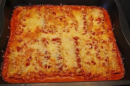 Ischileins Cannelloni mit Spinat und Frischkäse 75