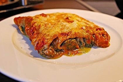 Ischileins Cannelloni mit Spinat und Frischkäse 27