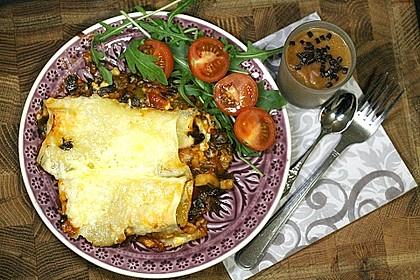 Ischileins Cannelloni mit Spinat und Frischkäse 35
