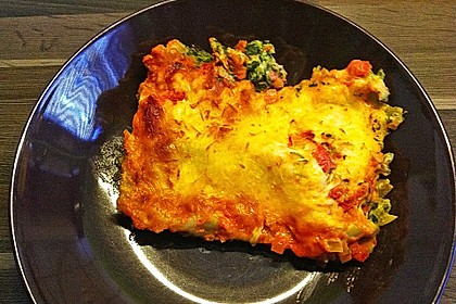 Ischileins Cannelloni mit Spinat und Frischkäse 64