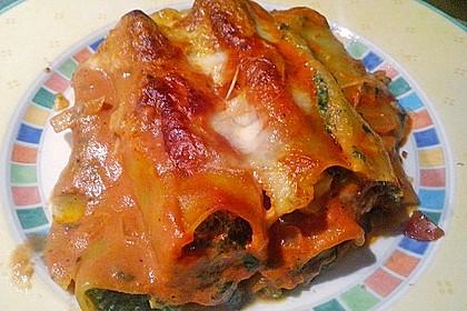 Ischileins Cannelloni mit Spinat und Frischkäse 26