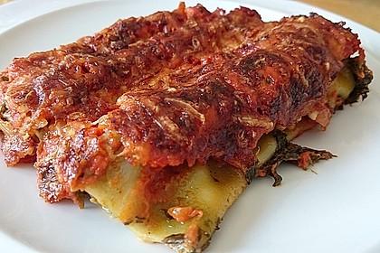 Ischileins Cannelloni mit Spinat und Frischkäse 15