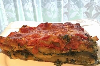 Ischileins Cannelloni mit Spinat und Frischkäse 23