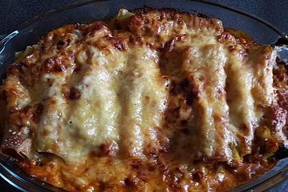 Ischileins Cannelloni mit Spinat und Frischkäse 41