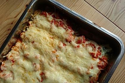 Ischileins Cannelloni mit Spinat und Frischkäse 32