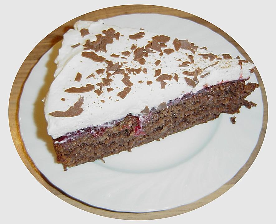 Prinz eugen torte mit preiselbeeren