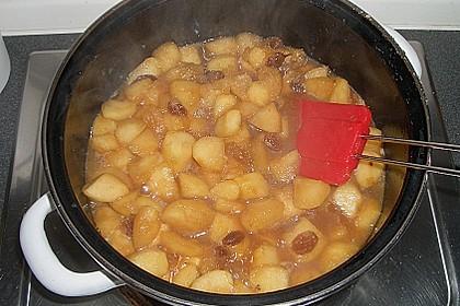Karamellisiertes Apfelkompott 3