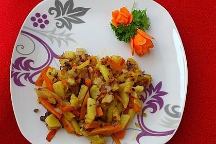 Russische Bratkartoffeln 2