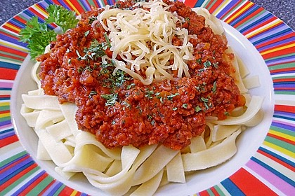 Sauce Bolognese - das ultimative Rezept 0