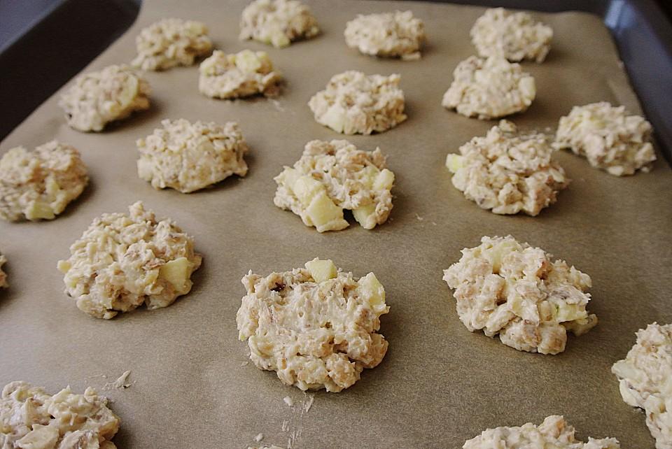 apfel cookies rezept mit bild von momo maus. Black Bedroom Furniture Sets. Home Design Ideas