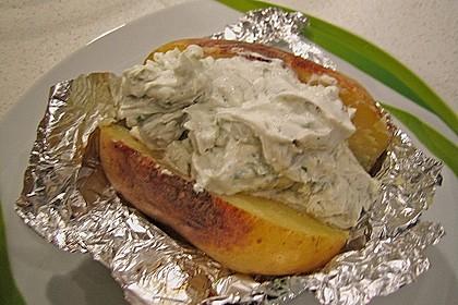 Backkartoffeln mit Gorgonzola - Creme 1