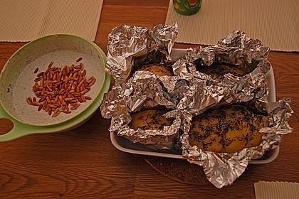 Backkartoffeln mit Gorgonzola-Creme 5