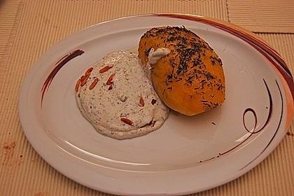 Backkartoffeln mit Gorgonzola - Creme 3