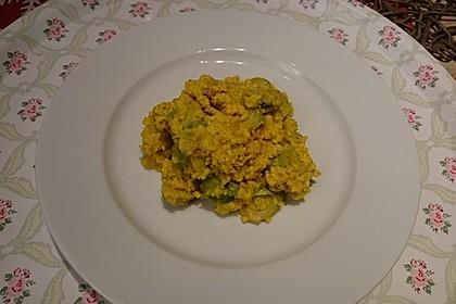 Scharfe Rosenkohl - Reis - Pfanne 10