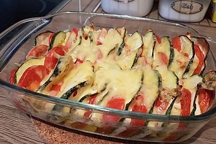 Auflauf von Zucchini, Tomaten und Feta 21