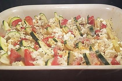 Auflauf von Zucchini, Tomaten und Feta 30