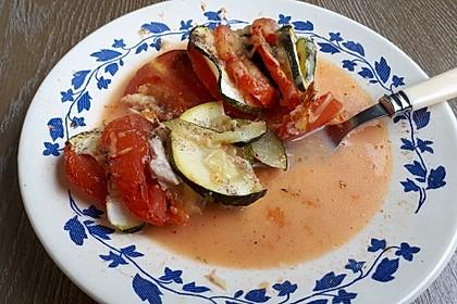 Auflauf von Zucchini, Tomaten und Feta 43