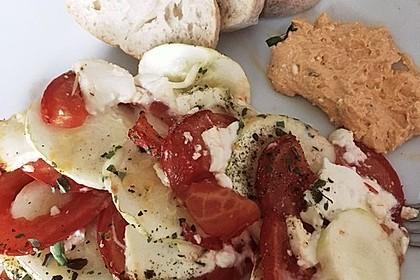 Auflauf von Zucchini, Tomaten und Feta 46