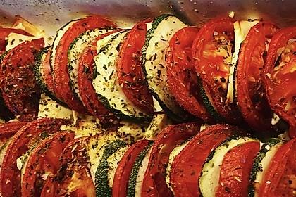 Auflauf von Zucchini, Tomaten und Feta 31