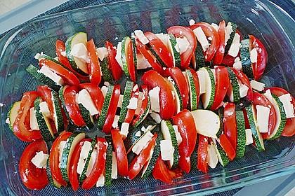 Auflauf von Zucchini, Tomaten und Feta 13
