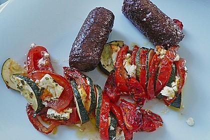 Auflauf von Zucchini, Tomaten und Feta 32