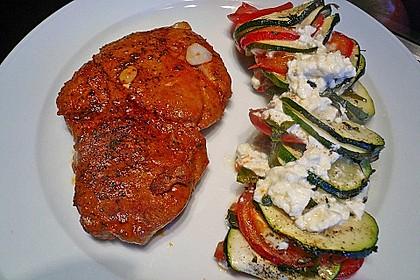 Auflauf von Zucchini, Tomaten und Feta 27